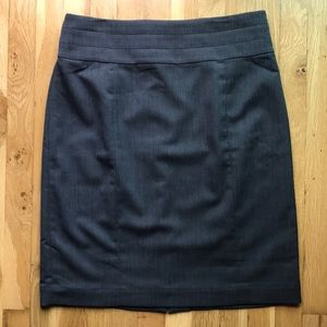 H&M Pencil skirt, grey, size 14